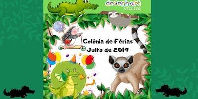 COLÔNIA DE FÉRIAS – Julho- 2019