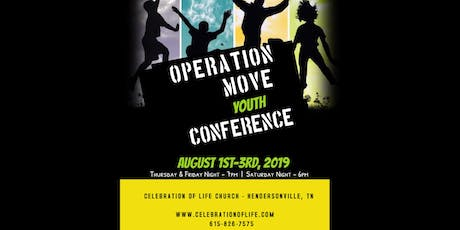 Operation Move Youth Conference tickets
