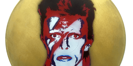 Bowie : Stencil Art Painting Class tickets