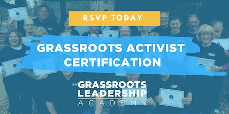 AFP Foundation MO, Grassroots Activist Certification, St. Genevieve tickets