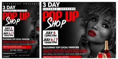 Divaneeds Essence Festival Weekend 3 Day PopUp Shop