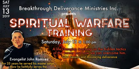 Spiritual Warfare Training with John Ramirez tickets