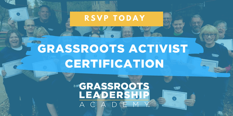 AFP Foundation MO, Grassroots Activist Certification, Liberty tickets