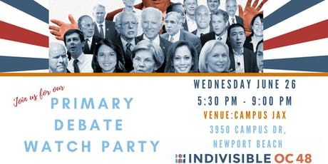 IOC 48 Primary Debate Watch Party: Night One tickets