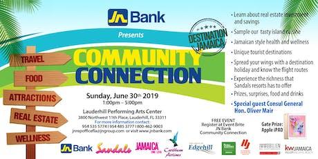 JN BANK - COMMUNITY CONNECTION- DESTINATION: JAMAICA tickets