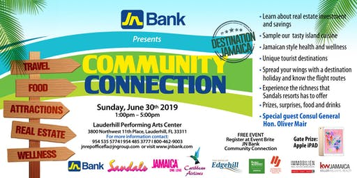 JN BANK - COMMUNITY CONNECTION- DESTINATION: JAMAICA