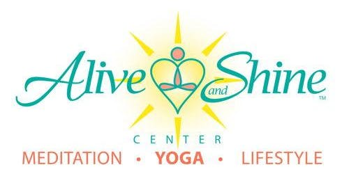 Free Alive and Shine Yoga Class