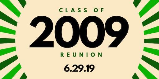 El Diamante High School '09 Reunion (AKA Dance Party)