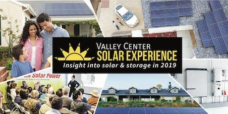 Valley Center Solar Experience tickets