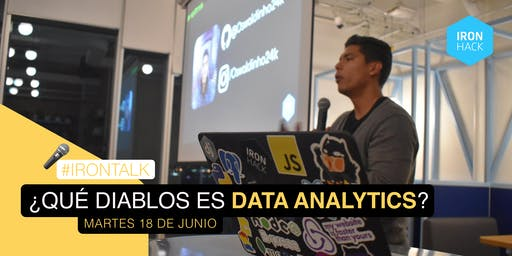 ¿Qué diablos es Data Analytics?
