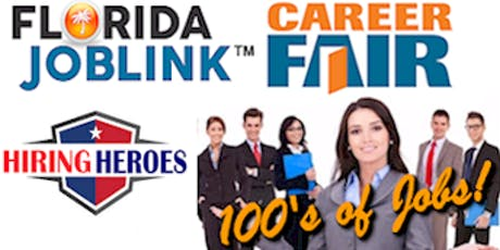 TAMPA BAY WORKS CAREER FAIR - WESLEY CHAPEL FLORIDA JOB FAIR - JUNE 27 tickets