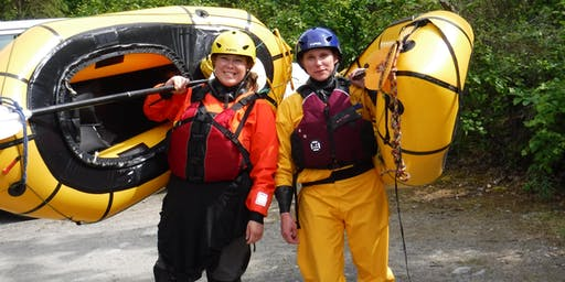 Introduction to Packrafting, Packraft 101  Beginner Class