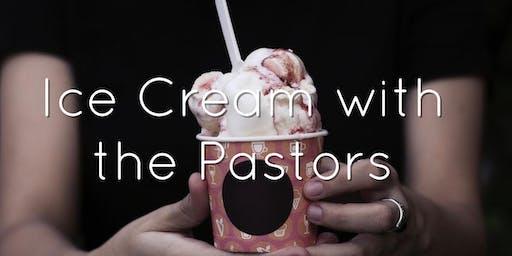 Ice Cream with the Pastors