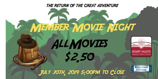 Member Movie Night - 2019