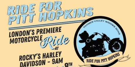 Ride for Pitt Hopkins tickets