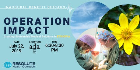 Operation Impact - Resolute Health Outreach's Inaugural Chicago Benefit tickets