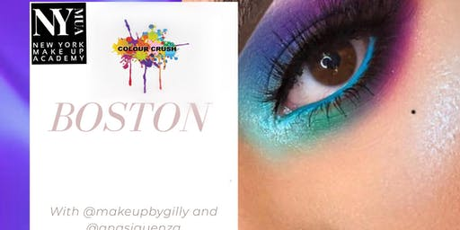 Boston Color Crush The Tour - Makeup Masterclass