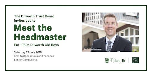 1980s  Dilworth Old Boys - Meet the Headmaster