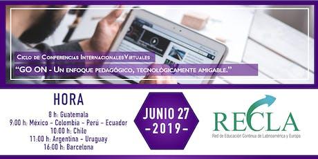 Ciclo de Conferencias Internacionales Virtuales RECLA entradas