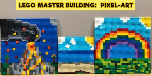 LEGO Master Building (Pixel Art) - Friday 12th July