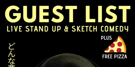 GUEST LIST: Comedy Album Recording tickets