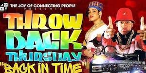 90's Throwback Thursday at Solas
