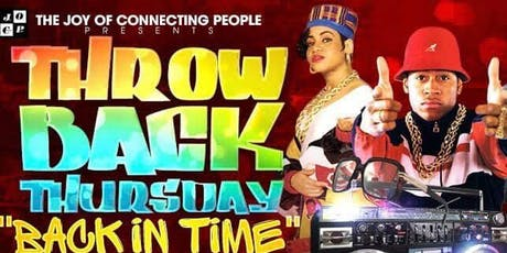90's Throwback Thursday at Solas	tickets
