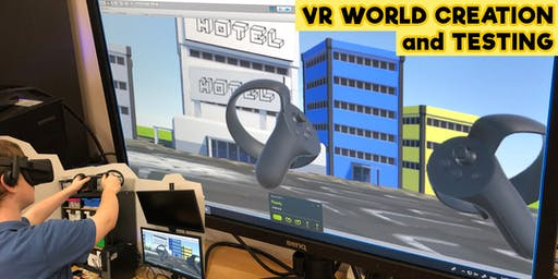 Virtual Reality World Creation and Testing - Tuesday 2nd July
