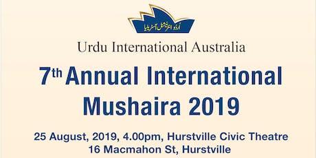 International Mushaira 2019 tickets