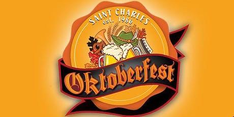 Saint Charles Oktoberfest VIP tickets