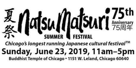 Japanese Cultural Summer Festival (Natsu Matsuri) tickets
