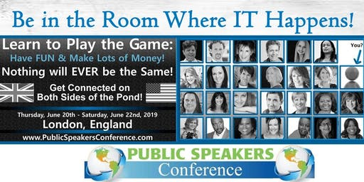 Public Speaking Conference (free to attend)