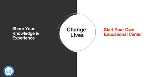Entrepreneurs...Start Your Own Educational Center That's Fueled With Grants.