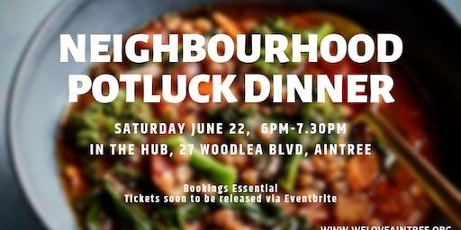 Neighbourhood Potluck Dinner