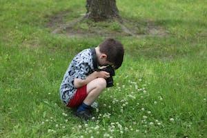 Feeling Nature - Children's Photography Workshop