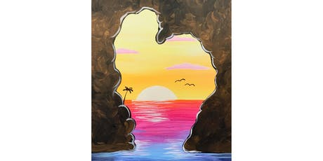 "Adult Open Paint (18yrs+) ""Sunset Heart"" tickets"