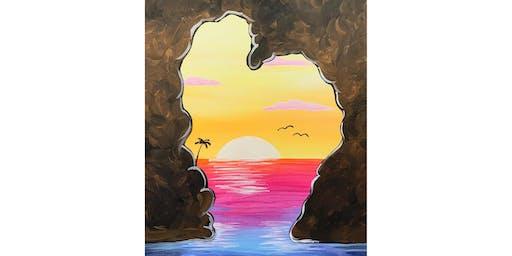 "Adult Open Paint (18yrs+) ""Sunset Heart"""