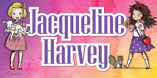 Author Talk with Jacqueline Harvey - Maryborough Library - Ages 6+