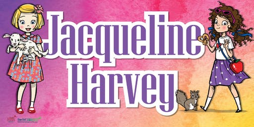 Author Talk with Jacqueline Harvey - Hervey Bay Library - Ages 6+