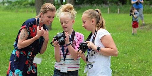 Children's Photography Workshop -  Farm Animals