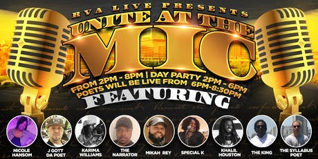 Unite at the Mic tickets
