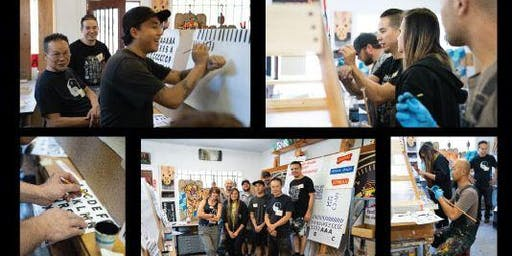 Hand Lettering Workshop - Sign Painting 101