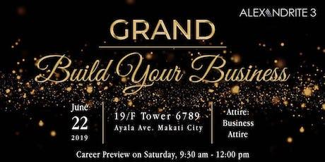 Alexandrite 3 Grand BYB tickets