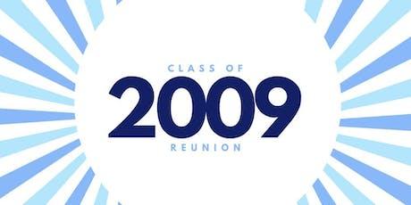2009 SGCHS 10 YEAR REUNION tickets