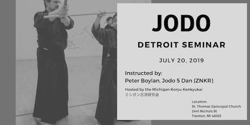 Jodo - Detroit Seminar