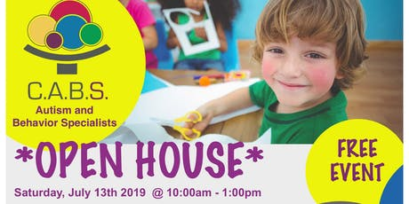 C.A.B.S. Open House Event tickets