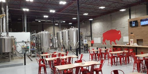 Father's Day Red Bison Brewery Tour, Beer Flight & 10% Off Merch