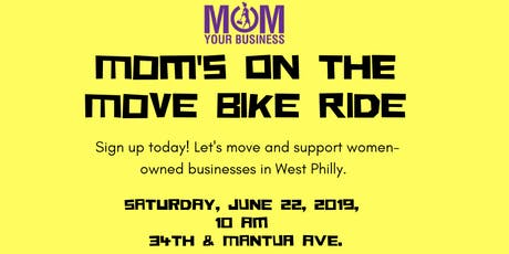 Mom's On the Move Bike Ride tickets