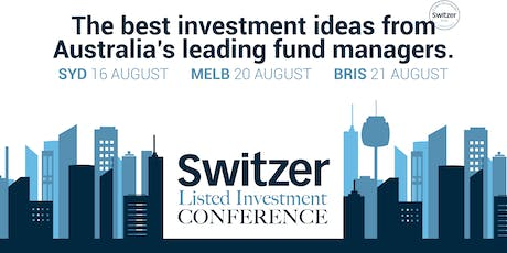 Switzer Listed Investment Conference and Masterclass Sydney 2019 tickets