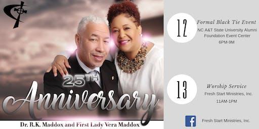 Fresh Start Ministries 25th Anniversary Banquet
